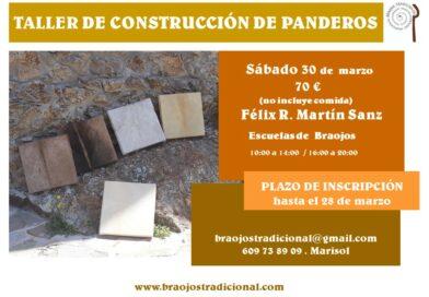 Taller de Construcción de Panderos (2019)