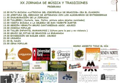 Programa. XX Jornada de música y tradiciones